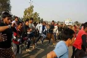 बहाली की आस में मैराथन दौड़ में शरीक हुए 5000 युवा
