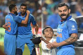 पुणे वनडे : कोहली-जाधव के शतकों ने इंग्लैंड के खिलाफ भारत को दिलाई 'विराट' जीत