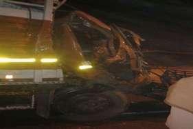 एनएच पर ट्रक-ट्रैक्टर की भिड़ंत, ड्राइवर की हुई मौत