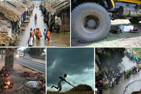 भारत में साल 2016 में खराब मौसम की वजह से 1,600 से लोगों की मौत