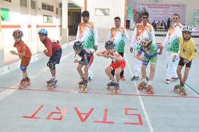 ताजनगरी में स्केटिंग रोलर ओपन चैंपियनशिप का रंगारंग आगाज