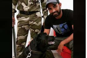 अब कुत्ते के साथ फोटो शेयर करने पर ट्रोल हुए मोहम्मद शमी