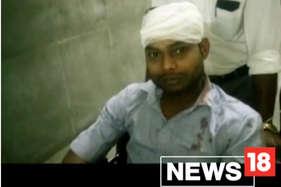 गृहमंत्री के काफिले ने युवक को मारी टक्कर