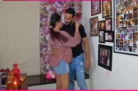 अनीता ने पति के साथ ऐसे मनाया वैलेंटाइन, देखें वीडियो