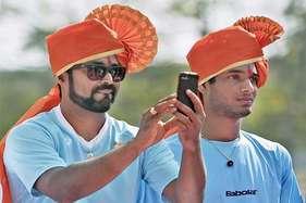 डेविस कप: महाराष्ट्र के रंग में नजर आए खिलाड़ी, पेस रचेंगे इतिहास?