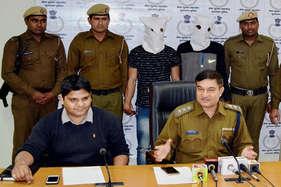 गुरुग्राम में डकैती और हत्या के मामलों में वांटेड दो बदमाश गिरफ्तार