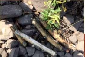 नवी मुंबई: बड़ी साजिश नाकाम, रेल की पटरी से जिलेटिन की छड़ें जब्त