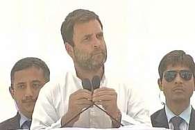 राहुल बोले, सरदार पटेल को आरएसएस का बना दीजिए लेकिन महापुरुषों को मत बांटिए