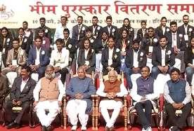 हरियाणा के खिलाड़ियों को सम्मान: दीपा मलिक समेत 42 खिलाड़ियों को मिला भीम अवार्ड