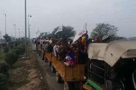 जाट आंदोलन को रामपाल समर्थकों का समर्थन, जसिया पहुंचे