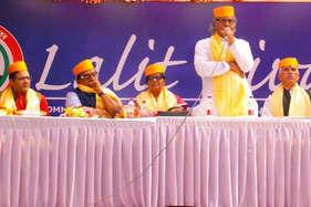 दिल्ली में धूमधाम से मना 'ललित दिवस'