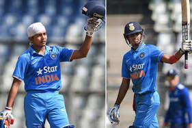 अंडर-19 क्रिकेट : पृथ्वी और शुभम ने लगाई सेंचुरी, टीम इंडिया रिकॉर्ड 230 रनों से जीती