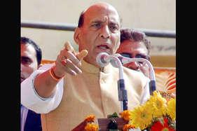 राजनाथ बोले, कांग्रेस और सपा के बीच गठबंधन नहीं 'ठगबंधन' है