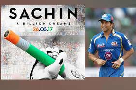 सचिन तेंदुलकर ने शेयर किया अपनी बायोपिक 'सचिन अ बिलियन ड्रीम्स' का पोस्टर