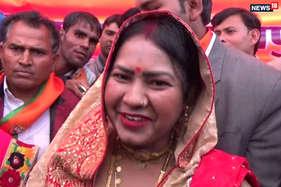 भाजपा ने जेल में बंद बसपा नेता की पत्नी पर लगाया जीत का दांव