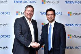 टाटा मोटर्स के गाड़ियों में मिलेगी माइक्रोसॉफ्ट की टेक्नोलॉजी