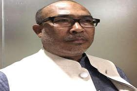 मणिपुर में पहली बार बनी भाजपा सरकार, बीरेन सिंह बने मुख्यमंत्री