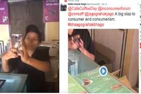 वीडियो बनाने पर सीसीडी की महिला स्टाफ ने कस्टमर को जड़ा थप्पड़