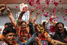 उत्तराखंड में बीजेपी ने रचा इतिहास, कांग्रेस 11 सीटों पर सिमटी