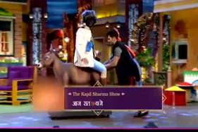 कपिल के घर में गधे पर सवार हुए 'डॉ मशहूर गुलाटी'!