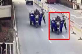 तिपहिया वाहन चालक ने पुलिसवाले को रौंदा