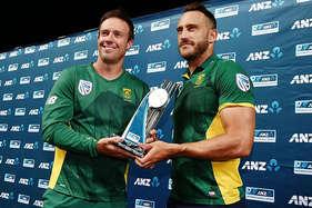प्लेसिस-मिलर की जोरदार बैटिंग, द. अफ्रीका ने कीवी टीम से जीती वनडे सीरीज