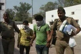 लूट और डकैती के मामलों में शामिल चूहा गैंग के दो गुर्गे गिरफ्तार