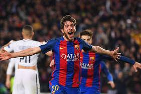 चैंपियंस लीग : बार्सिलोना की शानदार वापसी, मुश्किल मुकाबले मेंजर्मेन को हराया