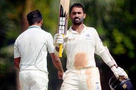 विजय हजारे ट्रॉफी : दिनेश कार्तिक की सेंचुरी, बंगाल को 218 रन का टारगेट