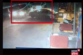 पुलिस को चकमा देकर कैसे भाग गए चोर, देखें वीडियो