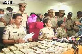 हैदराबाद से पकड़े गए 1.2 करोड़ के पुराने नोट, 10 लाख के नए नकली नोट भी बरामद