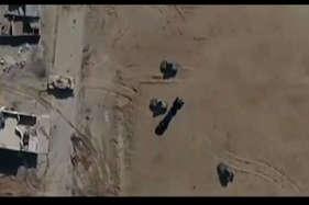 आईएसआईएस का ड्रोन हमला, पलक झपकते सेना की गाड़ी तबाह