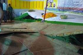 पटना में कार्यक्रम के दौरान लालू का मंच टूटा, आईजीआईएमएस में हुआ इलाज