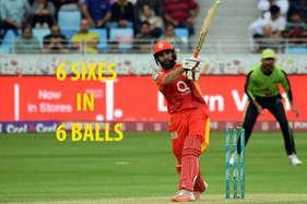 42 साल के इस पाक क्रिकेटर ने खेली तूफानी पारी, '7 गेंदों पर बनाए 40 रन'