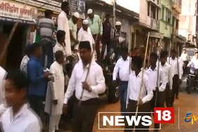 ...यहां आरएसएस की रैली पर मुस्लिमों ने की पुष्प वर्षा