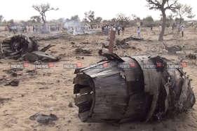 बाड़मेर में दुर्घटनाग्रस्त हुआ लड़ाकू विमान सुखोई, तीन जख्मी