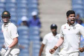 Ind vs Aus: उमेश यादव ने दिलाई भारत को पहली सफलता, मैट रेनशॉ आउट!