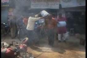 जमीनी विवाद में युवक को पेट्रोल डाल कर जिंदा जलाया