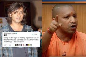 शिरीष कुंदर ने योगी आदित्यनाथ पर की आपत्तिजनक टिप्पणी