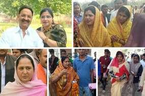 यूपी चुनाव: पूर्वांचल में बाहुबलियों की पत्नियों ने उठाई प्रचार की जिम्मेदारी