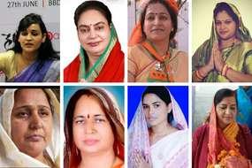 पत्नियों के चुनावी मैदान में कूदने से बढ़ गई है इन नेता पतियों की टेंशन, साख दांव पर