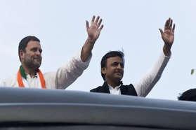 #UPVotes: दोपहर तक तेज दौड़ी 'साइकिल', फिर फैली 'कमल' की खुशबू