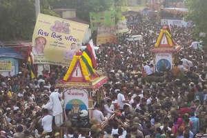 PHOTO: अहमदाबाद में ऐसे निकली भगवान जगन्नाथ की 140वीं रथयात्रा