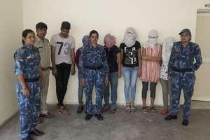 गुरुग्राम में सेक्स रैकेट का भंडाफोड़, 9 लड़कियों सहित 13 गिरफ्तार