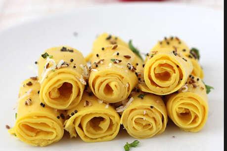 रेसिपी: चाय की चुस्कियों के साथ लें 'खांडवी' का मजा