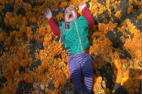 गोवर्धन पूजा पर गोबर के ढेर में लिटाए जाते हैं बच्चे, अनोखी है वजह!
