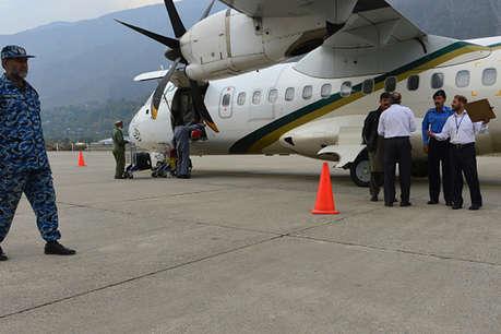 पाकिस्तान: उड़ान भरने से पहले काले बकरे की कुर्बानी
