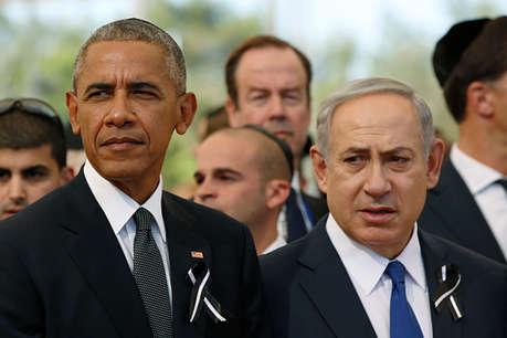 ओबामा पर जमकर बरसे इजरायल के प्रधानमंत्री