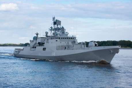 संकट में फंसी चीनी नौका को भारतीय नौसेना ने बचाया