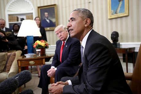 बराक ओबामा ने किया ट्रंप के विवादित वीजा कानून का विरोध, कहा 'लोगों का प्रदर्शन जायज'